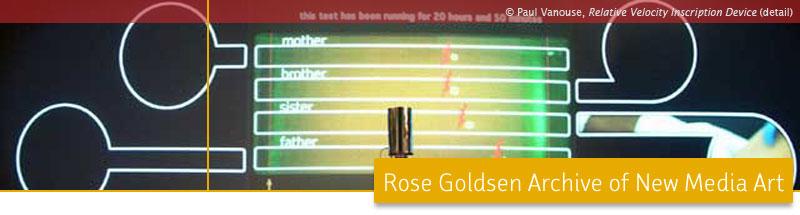 Rose Goldsen Archive of New Media Art